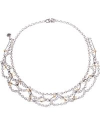 Tom Binns - Barricade Babe Barbedwire Necklace - Lyst