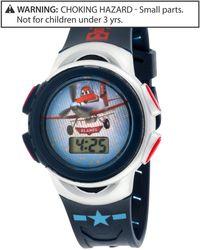 Disney - Boys Or Little Boys Planes Lcd Watch - Lyst
