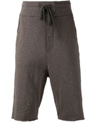 Thom Krom Cropped Track Pants - Lyst