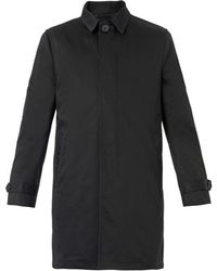 Paul Smith Singlebreasted Cotton Trench Coat - Lyst