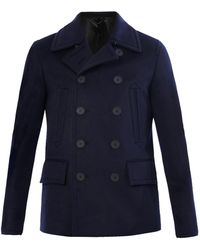 Burberry Prorsum - Doublebreasted Cashmere Peacoat - Lyst