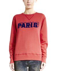 Riding High Paris Sweatshirt - Lyst