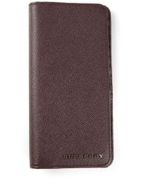 Burberry Long Logo Wallet - Lyst