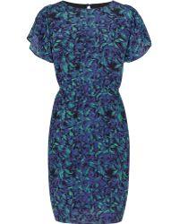 Reiss Garland Graphic Print Dress - Lyst
