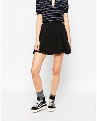Blend She - Zima Skater Skirt - Lyst