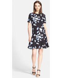 Kenzo Women'S Print Drop Waist Dress - Lyst