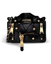 Moschino Quilted Teddy Bear Backpack gold - Lyst