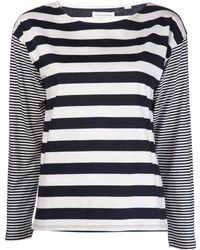 Chinti And Parker Striped Tshirt - Lyst