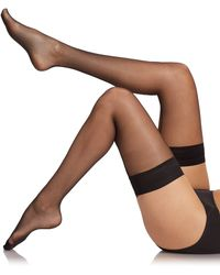 Fogal Catwalk Couture Stay-Up Thigh Highs - Lyst