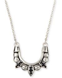 Pamela Love Mini Tribal Spike Necklace - Lyst