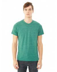 Alternative Apparel Basic Eco-Jersey Crew T-Shirt - Lyst