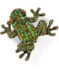 Carolee | Frog Pin | Lyst