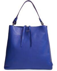 Furla Women'S 'Twiggy - Medium' Hobo - Blue - Lyst