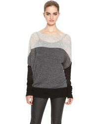DKNY Pure Color Block Pullover - Lyst