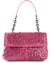 Bottega Veneta Intrecciato Shoulder Bag - Lyst
