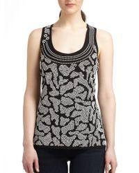 Grayse - Animal Print Knit Top - Lyst
