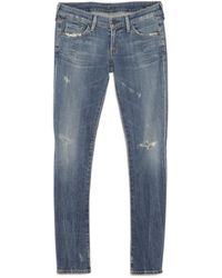 Citizens of Humanity Distressed Skinny Jean - Lyst