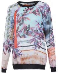 Clover Canyon - Multicolour Olive Tree Print Sweatshirt - Lyst