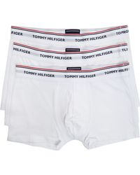 Tommy Hilfiger Pack 3 Boxer Shorts Essential White - Lyst