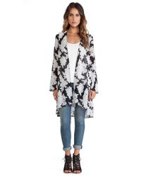 Oh My Love - Long Kimono - Lyst