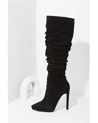 Nasty Gal Jeffrey Campbell Alamode Suede Boot - Lyst