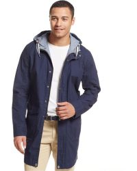 Tommy Hilfiger Argus Trench Coat - Lyst