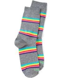 Diesel Gray Skm-ray Socks - Lyst