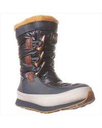Keds - Powderpuff Navy Mid-calf Boot - Lyst