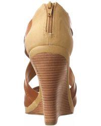 Luxury Rebel - Naja Wedge Sandal - Lyst