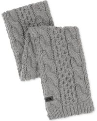 The North Face Cable-knit Minna Scarf - Lyst