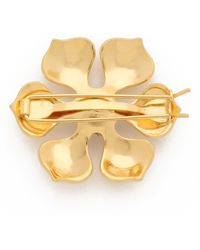 Dauphines of New York - Best In Bloom Barrette - Gold/clear - Lyst