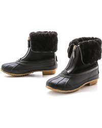 Tory Burch Abbot Booties - Blackblackblack - Lyst