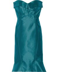 Zac Posen B Silktwill Dress - Lyst