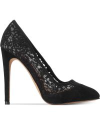 French Connection Camleigh Lace Pumps - Lyst