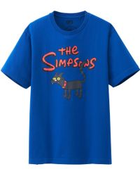 Uniqlo Men The Simpsons Graphic Short Sleeve T Shirt - Lyst