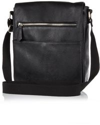 River Island Black Small Satchel Bag - Lyst