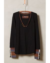 Anthropologie Black Lata Tee - Lyst