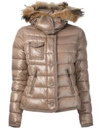 Moncler Brown Armoise Jacket - Lyst
