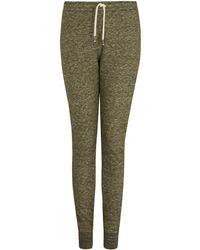 Norse Projects - Khaki Tove Slim Melange Wool-blend Sweatpants - Lyst