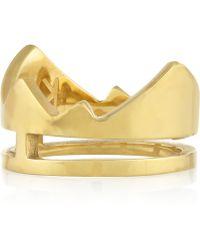 Kelly Wearstler - Azzi Goldplated Ring - Lyst