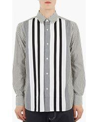 Ganryu | Striped Cotton Shirt | Lyst