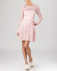 BCBGMAXAZRIA Dress - Kyla A Line Long Sleeve - Lyst