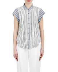 Sea Stripes Top - Lyst