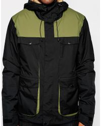 Clwr - Jacket With Colour Block - Lyst