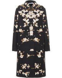 Givenchy - Gypsophila Print Overcoat - Lyst