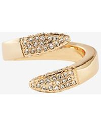 Giles & Brother - Double Spike Bypass Ring - Lyst