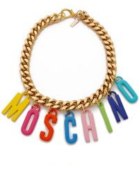 Moschino Necklace - Multi - Lyst