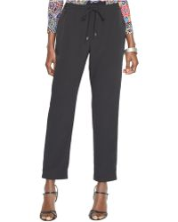 Lauren by Ralph Lauren Skinny-Leg Pull-On Pants - Lyst