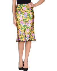 Nina Ricci 3/4 Length Skirt - Lyst