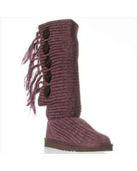 Ugg | Fringe Cardy Knee-high Boot | Lyst